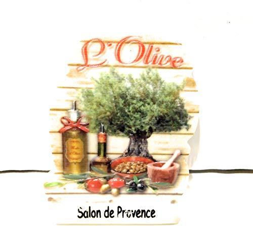 Nemery - Imán de recuerdo para salón de Provence – Producto del olivo