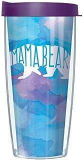 Mama Bear 22 Oz Traveler Tumbler Mug with Lid