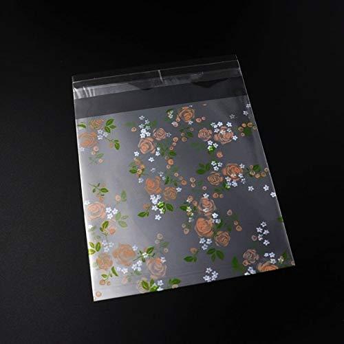 YUKO 25 pz 10 * 13 cm OPP Grande Adorabile Autoadesivo Trasparente imballaggio Carino bracciali Orecchini Collana Collana Borse Regalo per Gioielli Scatola Pacchetto