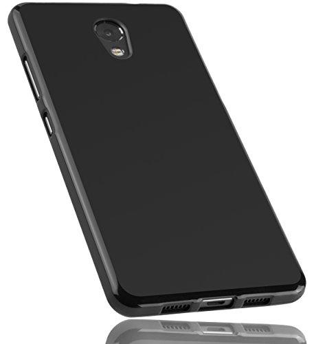 mumbi Hülle kompatibel mit Lenovo P2 Handy Hülle Handyhülle, schwarz