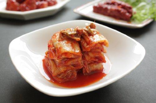 白菜キムチ 頂 お徳用1kg(袋入り)(無添加・アミノ酸も酵母エキスも無添加)