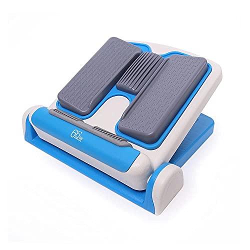 66 Fit - Attrezzo per Stretching, Regolabile, Colore: Blu