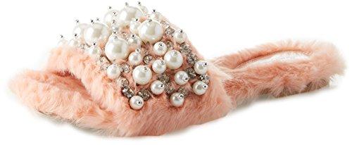 Jeffrey Campbell 11-FACIL-BP Fake Fur, Sandales Bout Ouvert Femme, Rose (Light Pink 001), 39 EU