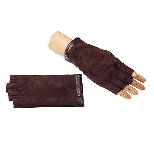 XUERUI Wanten Handschoenen Mannen Vingerloze Winter Garantie Warm Dikker Rijden Fietsen Unisex Accessoires
