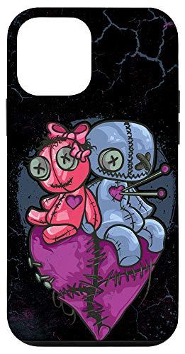 iPhone 12 mini Voodoo Doll Couples Dolls Halloween Case