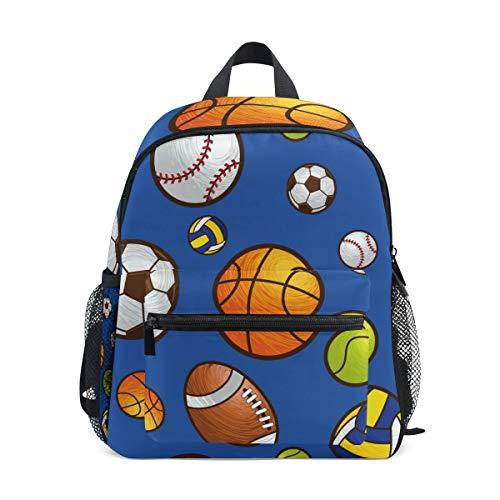 Mochila de Baloncesto Soccor para la Escuela, Bolsa de fútbol, multilindas Bolsas para niños y niñas, Mochila de Viaje para niños de 3 a 8 años de Edad Preescolar