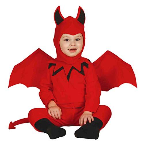Demon costume bébé 6-12 mois
