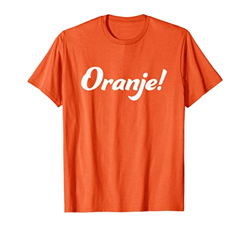 Oranje Orange Holland Niederlande T Shirt