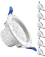 LED inbouwspot 230V IP44 5W LED spots bad koud wit 6000K 500 lumen voor woonkamer badkamer - set van 6