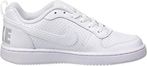 Nike Court Borough Low (Gs), Zapatillas de Baloncesto para Niños, Blanco (White / White-White), 36 EU