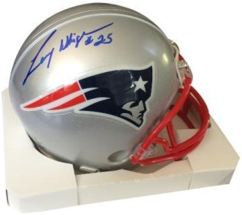 Larry Whigham Autographed Mini Helmet - Autographed NFL Mini Helmets
