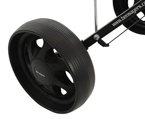 Ben Sayers Ben Sayers Unisex Steel Trolley - Black