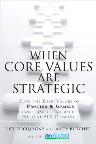 When Core Values Are Strategic: How the Basic Values of Procter &...