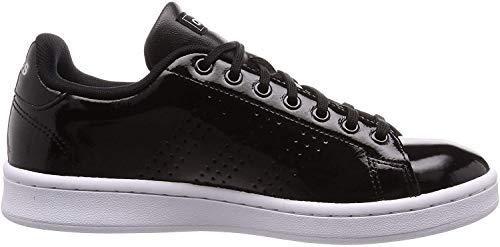 adidas Damen Advantage Tennisschuhe, Negbás/Ftwbla/Plamat, 39 1/3 EU