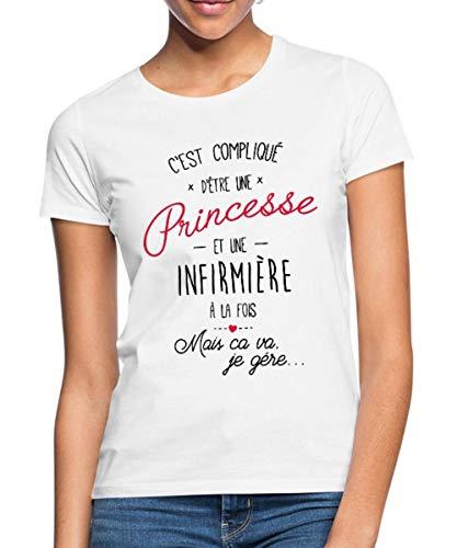 Le t-shirt Princesse Et Infirmière