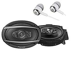 Pioneer TS-A6970F A Series 6  X 9 600 Watts Max 5-Way Car Speakers