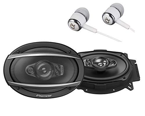 Pioneer TS-A6970F A Series 6″ X 9″ 600 Watts Max 5-Way Car Speakers Pair