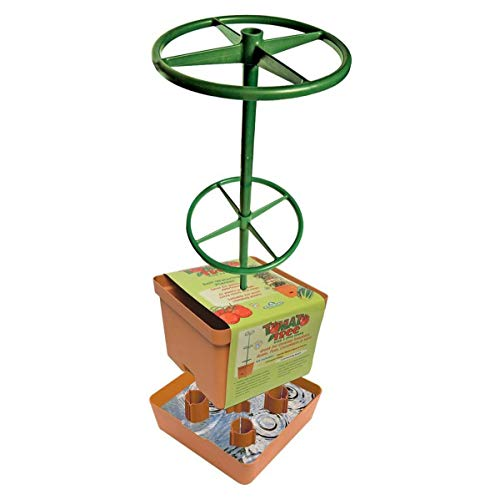 Hydrofarm GCTT Tomato 3-Foot Tree Tower, Orange and Green
