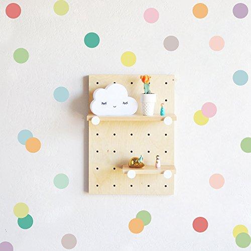 SOOOEC Pegatinas de Pared Infantiles, Murales Adhesivos y Pegatinas de Pared para Bebé Vinilo Infantil Pared Decorativas(Dibujos Animados Coloridos, 72 Piezas)