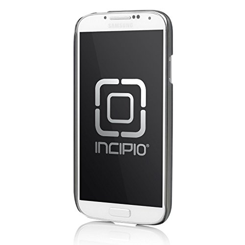 Incipio Feather Shine Ultra Thin Snap-on Case for Samsung Galaxy S4 - Retail Packaging - Black Aluminum