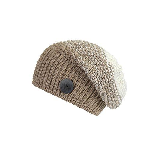 Eisbär Damen Fabienne OS Mütze, beigemele/Weiß, One Size