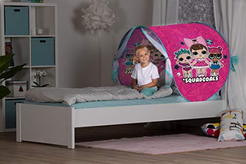 John- LOL Surprise - Tienda de campaña para niños, Color Rosa. (70209)