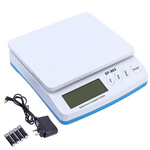 Postal Scale Mail Scale Postal Digital Shipping Scale for Packages Mailing Scale Ditigal Scales Package Scale 01 Gram Scale Postal Scales for Shipping Gram Scales Digital Weight