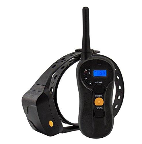 Cutepet Hunde Collar Wiederaufladbar Hunde Training Halsband Erziehungsband Mit Ton Und Vibration Wasserdicht Innovatives Blindes Betriebsdesign XG-4015