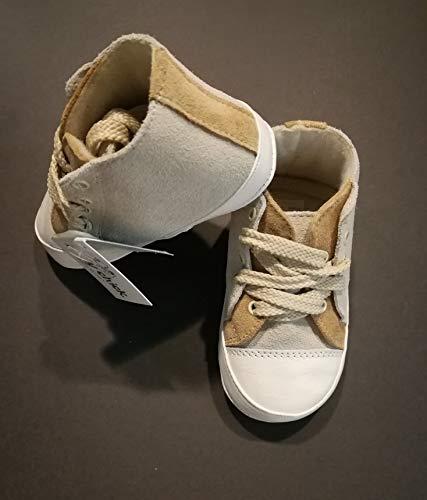 BABY CHIC - Zapatos DE Primer Paso Baby COT Made IN Italy N.18