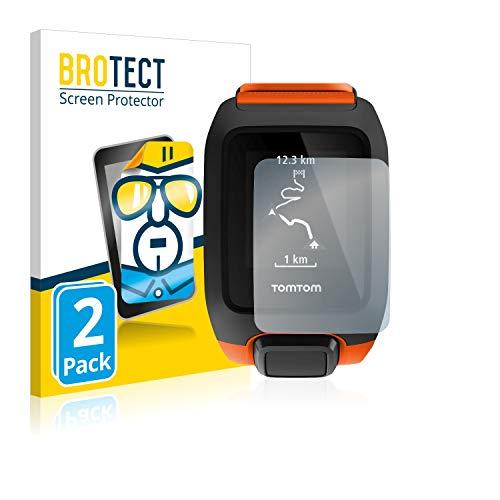 BROTECT Schutzfolie kompatibel mit Tomtom Adventurer (2 Stück) klare Bildschirmschutz-Folie