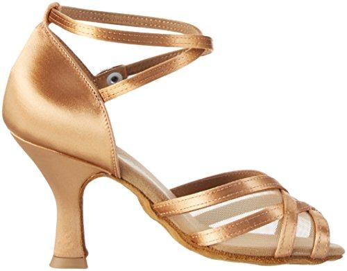 Diamant Damen Tanzschuhe 035-108-087 Standard & Latein, Beige (Bronze), 38 2/3 EU (5.5 UK) - 6