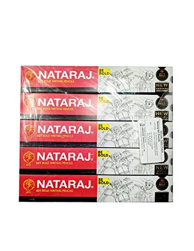 Nataraj 621 Writing Pencil Pack of - 5 (50 Pencils)