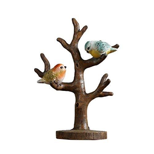 DSENIW QIDOFAN Crafts Dekorationen Kunsthandwerk Branchen Vögel Regale Raum speichern zu Hause Kleidung Weinschrank Dekoration Leben