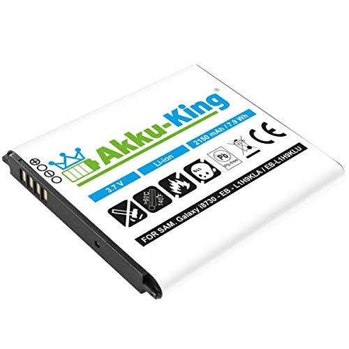 Akku-King Akku kompatibel mit Samsung EB-L1H9KLA / KLU - Li-Ion 2150mAh - für Galaxy Express GT-i8730, GT-i8730T (ohne NFC)