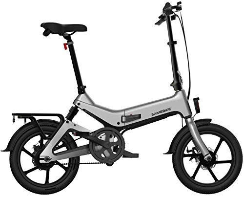 Bicicleta de montaña eléctrica, Bicicleta plegable eléctrica de 16