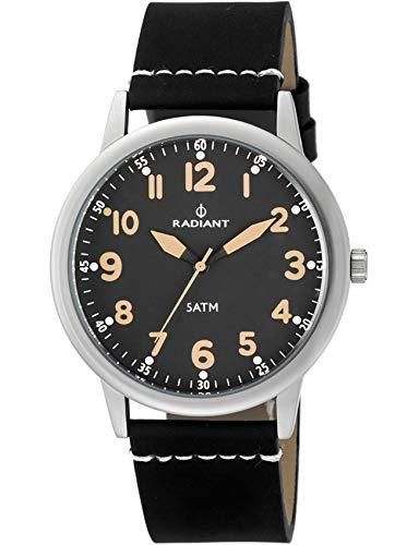 Radiant Reloj Analógico para Hombre de Cuarzo con Correa en Cuero RA394604