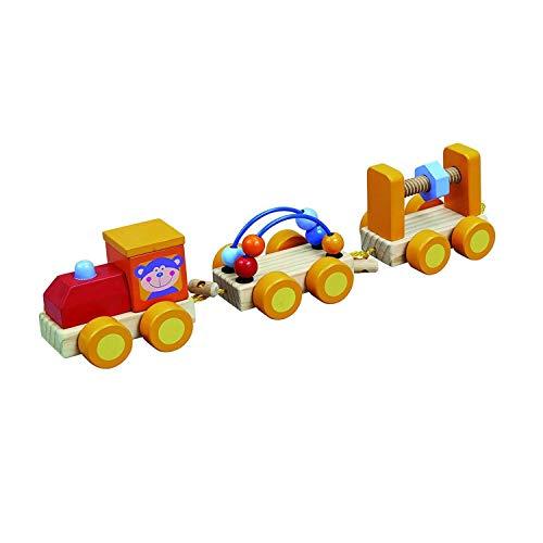 IMAGIN Jouet éveil - Mon Premier Train avec Wagon