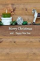 Qinunipoto クリスマス 写真 背景布 撮影用 背景 冬 写真撮影用小道具 背景シート メリークリスマス 写真館 撮影スタジオ用 自宅用 撮影用クリスマス背景布パーティー クリスマス用背景 ビニール製 2x3m