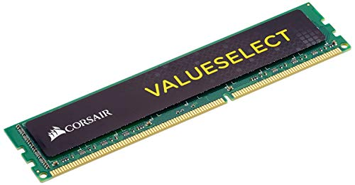Corsair CMV8GX3M1A1600C11 Value Select 8GB (1x8GB) DDR3 1600 Mhz CL11 Standard Desktop Memory