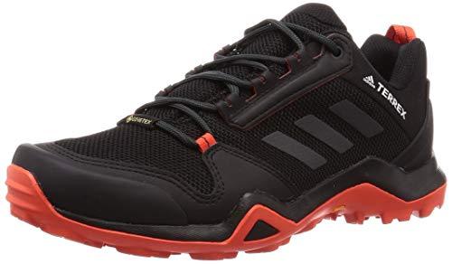 adidas Performance Terrex AX3 GTX Trail Laufschuh Herren schwarz/orange, 8 UK - 42 EU - 8.5 US