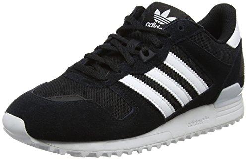 adidas ZX 700, Scarpe da Corsa Uomo, Nero (Core Black/footwear White/core Black), 43 1/3 EU