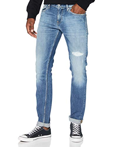 Calvin Klein Ckj 026 Slim Pantaloni, Denim, 30W / 34L Uomo