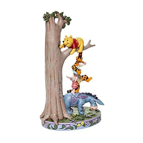 Jim Shore Disney Traditions Dekofigur Pooh und Freunde, gestapelt, 22,2 cm hoch