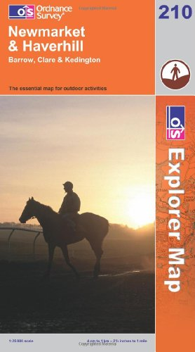 OS Explorer map 210 : Newmarket & Haverhill