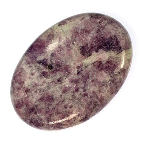 CrystalAge Lepidolite Thumb Stone