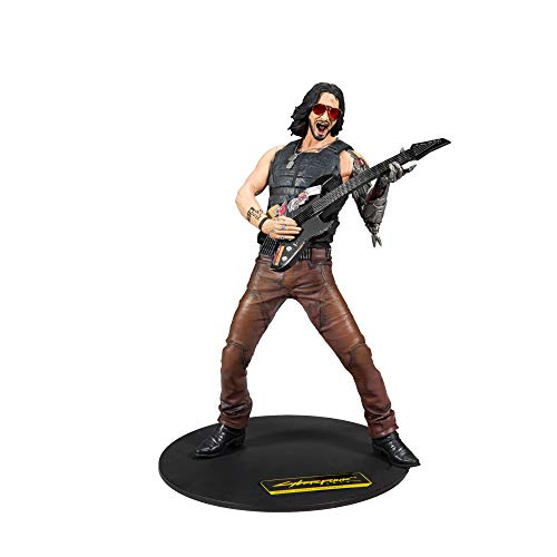 Cyberpunk 2077 Johnny Unisex Actionfigur Standard Vinyl Fan-Merch, Gaming