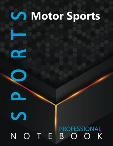 """Compare Textbook Prices for Sports, Motor Sports Ruled Notebook, Professional Notebook, Writing Journal, Daily Notes, Large 8.5"""" x 11"""" size, 108 pages, Glossy cover  ISBN 9798496424844 by ProSportz Cre8tive Press"""