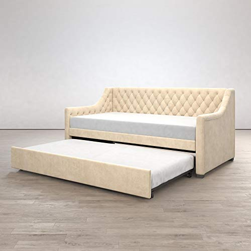 Little Seeds Ambrosia Diamond Tufted  Daybed and Trundle Set