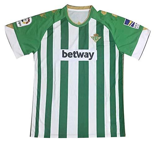 Logo Manga Corta Jersey 20-21 Nueva Temporada Betis Equipos de fútbol Personalizados Green-S