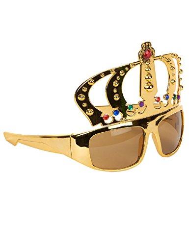 Brille König Krone - Tolles Accessoire für Junggesellenabschied oder Mottoparty
